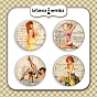 plakietki ozdobne flair buttons - Pin Up Girls #2