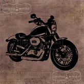 stempel gumowy Steampunk Stories - motor