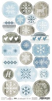 zestaw die-cuts Brr...It's Cold Outside 32x16 cm